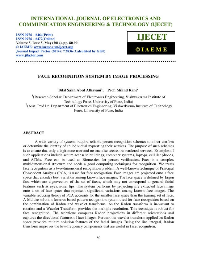 International Journal of Electronics and Communication Engineering & Technology (IJECET), ISSN 0976 – 6464(Print), ISSN 09...