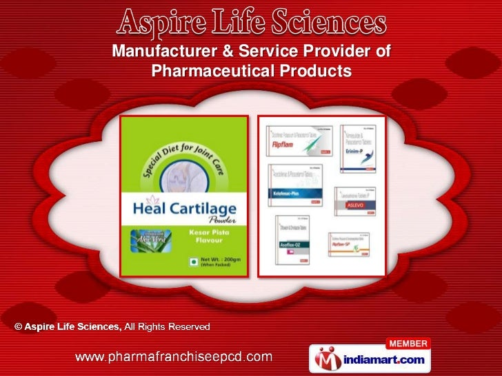 Manufacturer & Service Provider of    Pharmaceutical Products