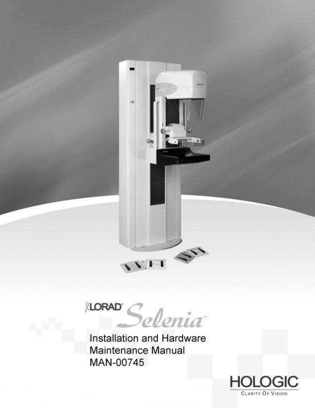 Lorad Selenia Quality Control Manual