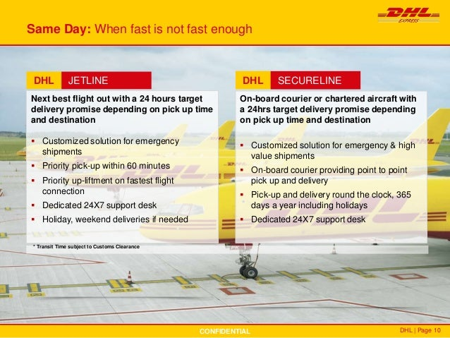 Dhl pick up point