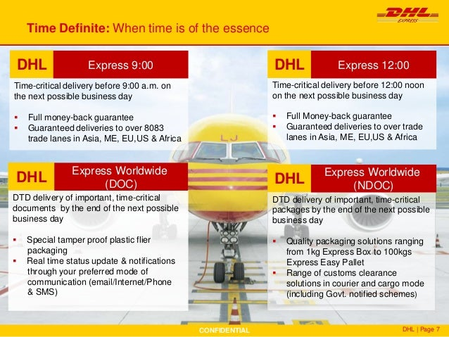 DHL Corporate Customer Presentation