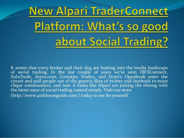 It seems that every broker and their dog are busting into the media landscapeof social trading. In the last couple of year...