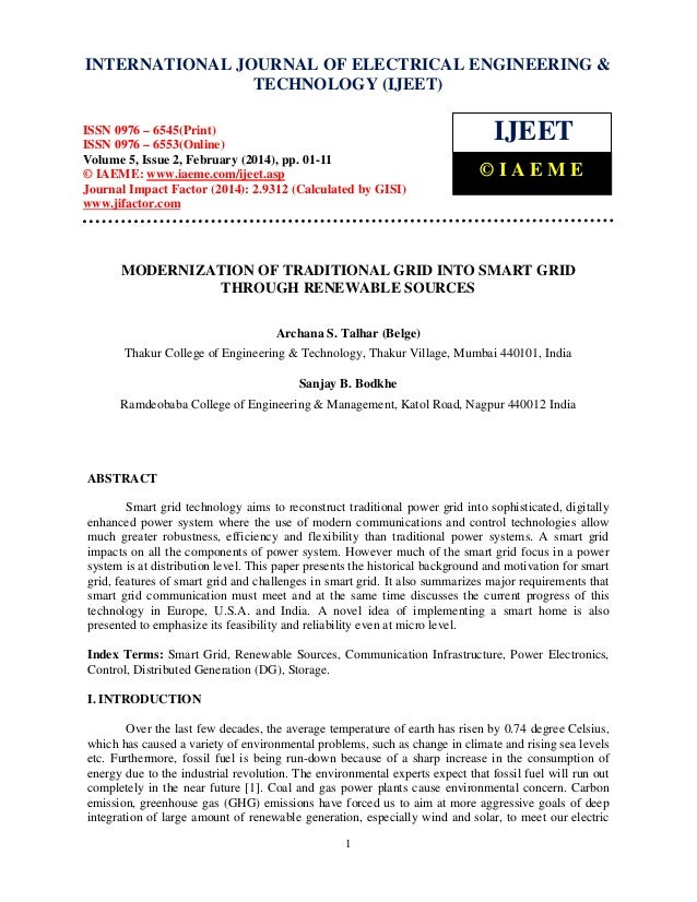 International Journal of Electrical Engineering and Technology (IJEET), INTERNATIONAL JOURNAL OF ELECTRICAL ©ISSN 0976 – 6...