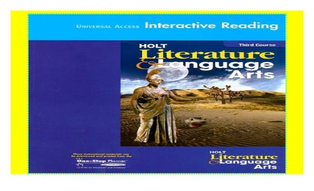 Holt Literature And Language Arts Universal Access