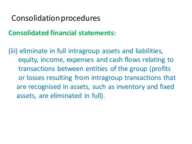 presentation on consolidated financial statements journals This reading illustrates the preparation of consolidated financial statements for company p and company s learning how  work sheet preparation.