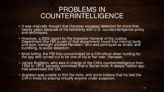 Counter intelligence quotes