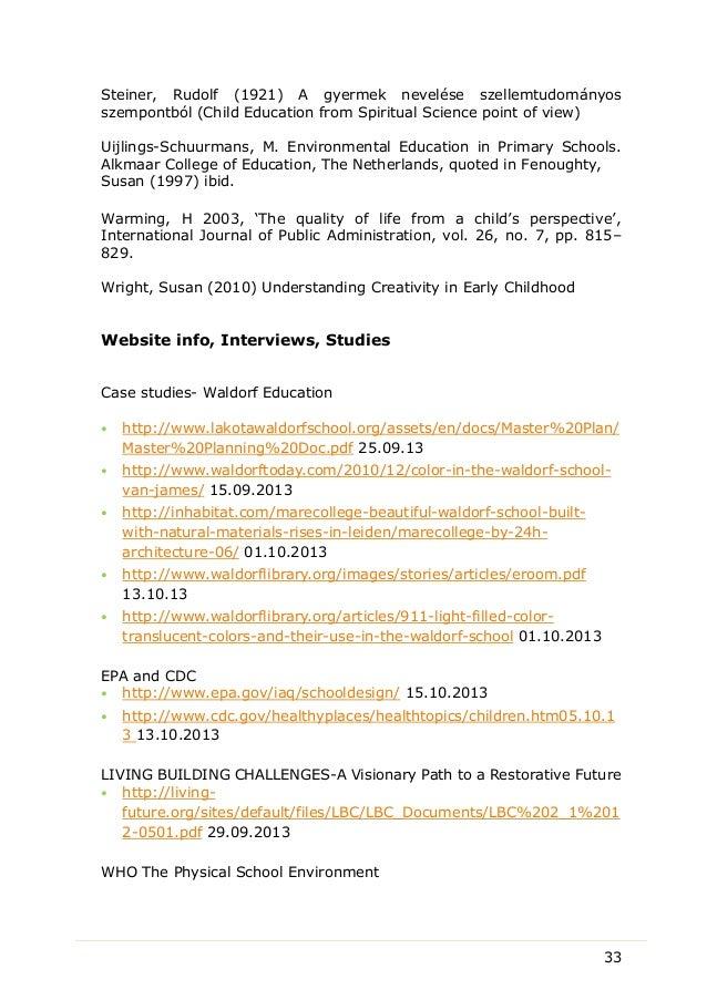 dissertation ideas education