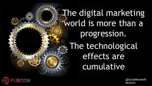 @SocialMichelleR@SocialMichelleR #pubcon#pubcon The digital marketingThe digital marketing world is more than aworld is mo...