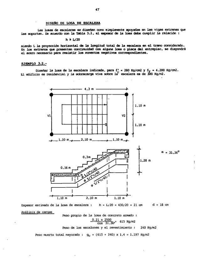 Libro dise o estructural en concreto armado en pdf for Construccion de escaleras de concreto armado