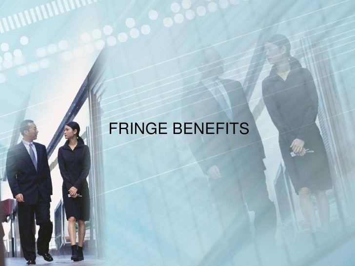 fringe benefits Fringe benefits are monetary benefits to an employee that do not affect the employee's salary or wages at usc, these are composed of health plans, insurance plans, social security and retirement plans (or a subset thereof.
