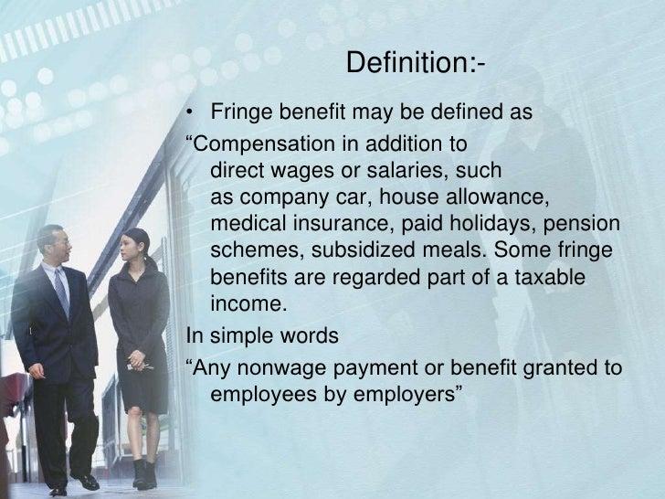 Company Car Taxable Fringe Benefit