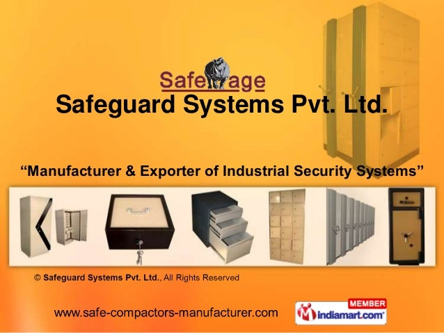 """Safeguard Systems Pvt. Ltd.""""Manufacturer & Exporter of Industrial Security Systems"""""""