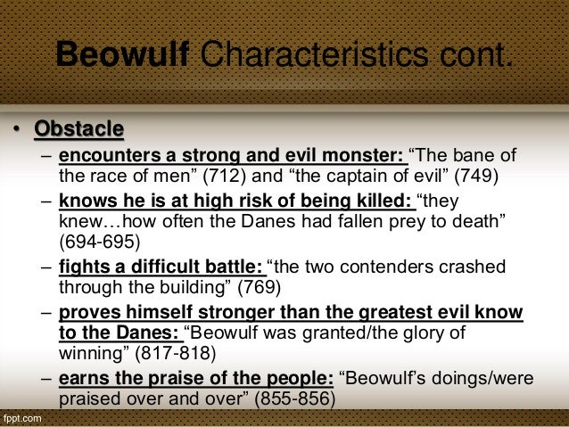 Why Does Beowulf Journey Across The Sea To The Land Of The Danes