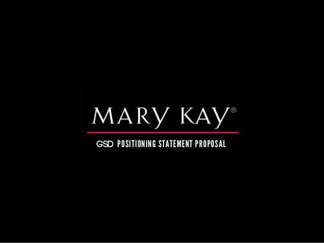 Mary kay objectives