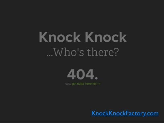 KnockKnockFactory.com