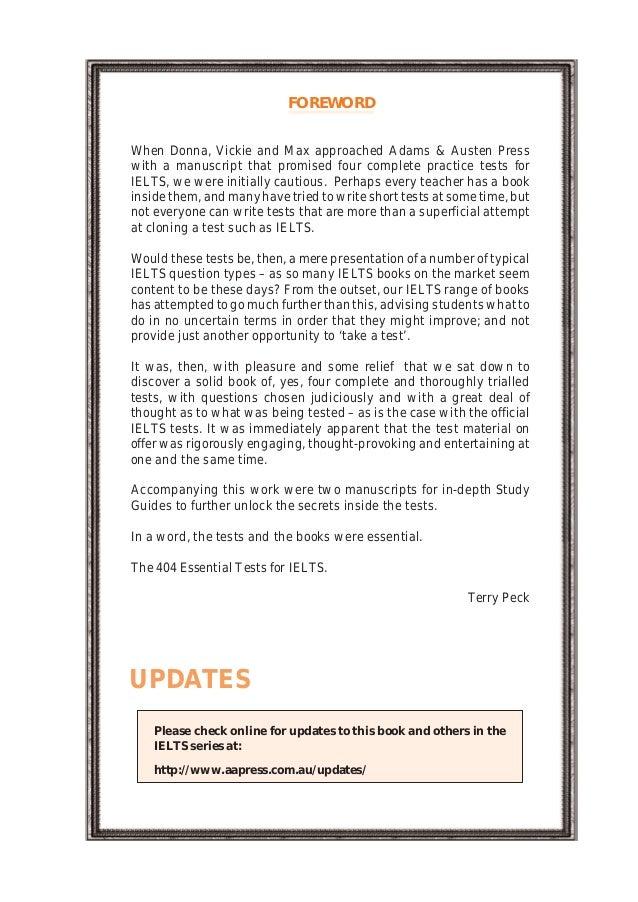 For tests 404 pdf essential ielts