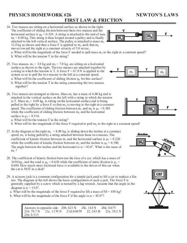 Surface Friction Worksheet surface friction worksheet and – Friction Worksheet