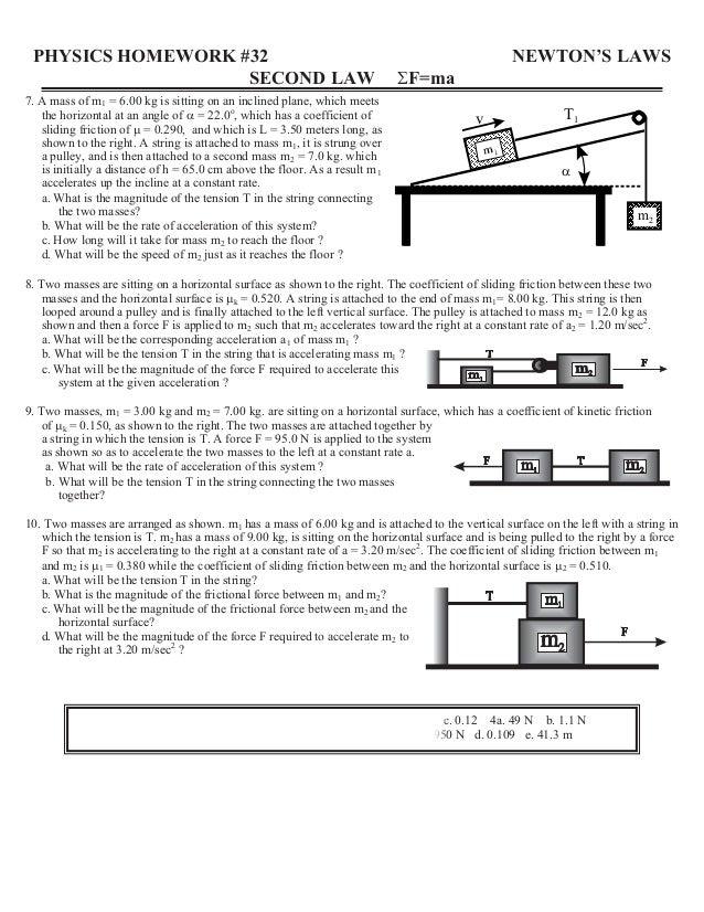 physics homework #32