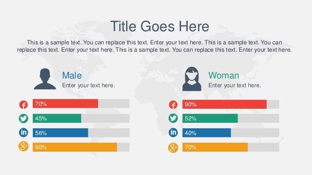 Animated Global Rainbow PowerPoint Template