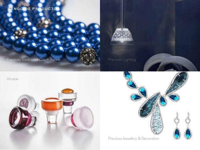 Preciosa Jewellery  Decoration Vinolok Preciosa LightingPreciosa Traditional Czech Beads R a n go d e pro d u ctos