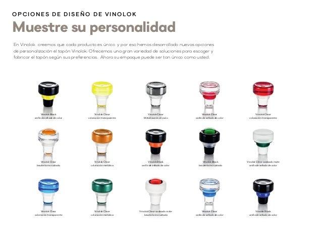 Muestre su personalidad En Vinolok creemos que cada producto es único y por eso hemos desarrollado nuevas opciones de pers...