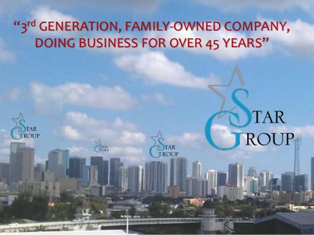 """3rd GENERATION, FAMILY-OWNED COMPANY, DOING BUSINESS FOR OVER 45 YEARS"""