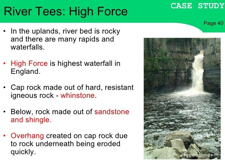 river tees case study bbc bitesize