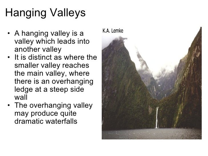 Glaciation on Lake Forming Diagram