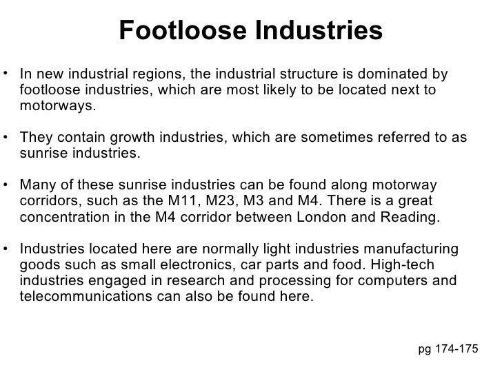 24 footloose industries