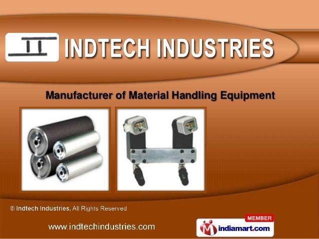 Manufacturer of Material Handling Equipment