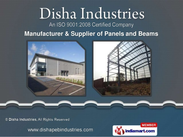 Manufacturer & Supplier of Panels and Beams