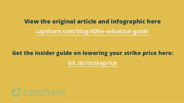 Valuation of stock options 409a