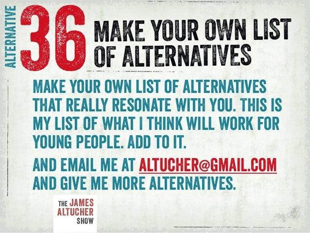 college alternatives