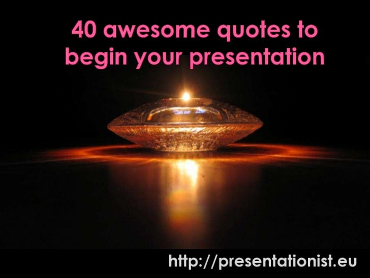 Business Presentation Phrases