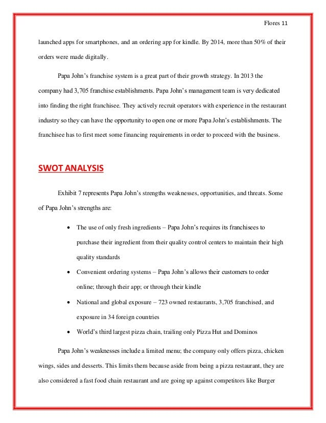 pizza hut swot analysis essays Wikiwealth offers a comprehensive swot analysis of pizza hut our free research report includes pizza hut's strengths, weaknesses, opportunities, and threats.