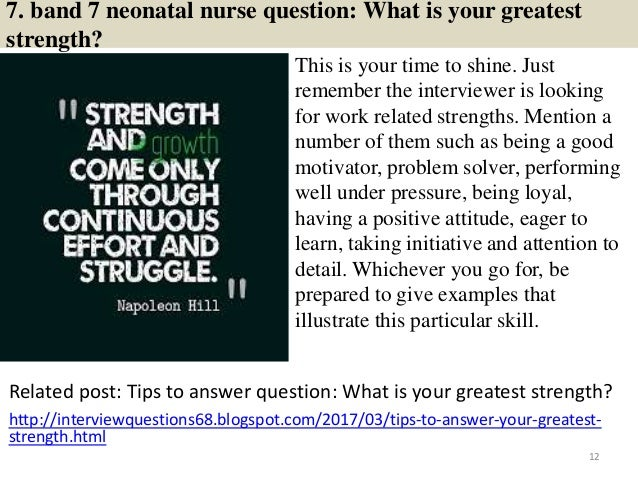 40 band 7 neonatal nurse interview questions and answers pdf