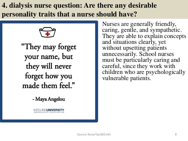 10 Dialysis Nurse Interview Questions and Best Answers for ...