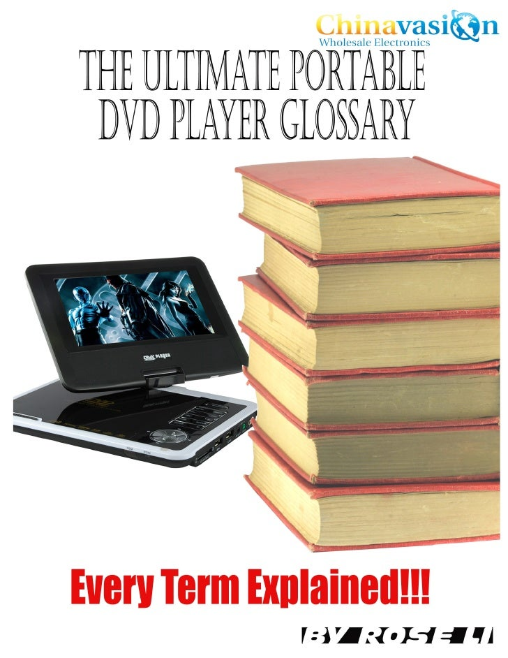 Like all electronic products, features for portable players are also full of jargon. As a reseller of portable DVD players...