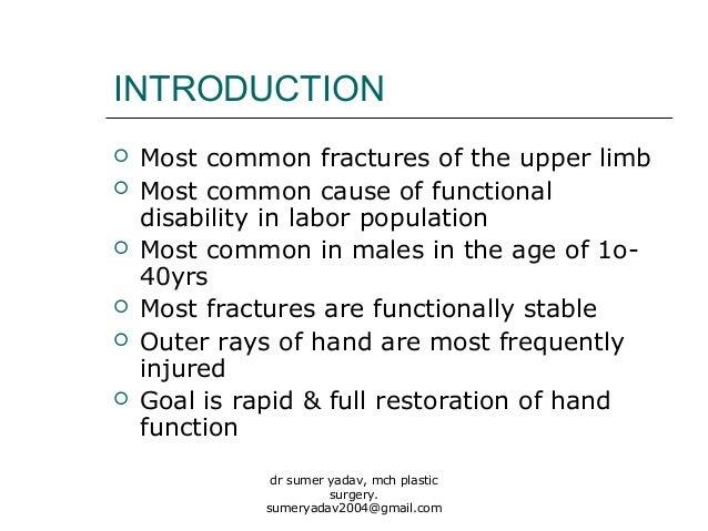 fractures of hand bones Slide 2