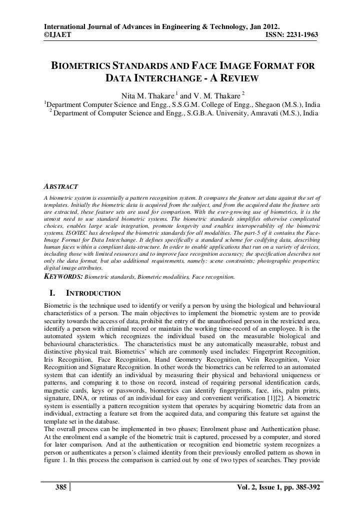 International Journal of Advances in Engineering & Technology, Jan 2012.©IJAET                                            ...