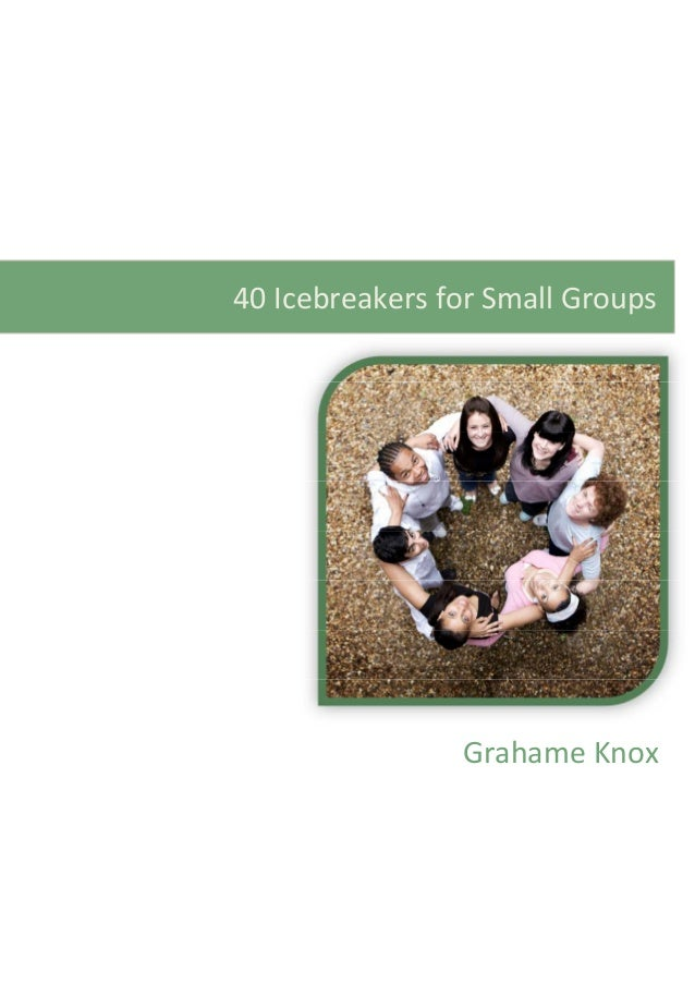 Top 10 Icebreaker Games for Small Groups