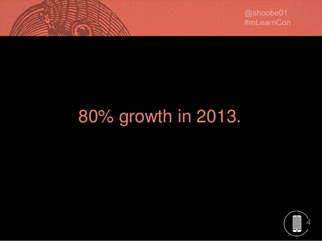 4 80% growth in 2013.