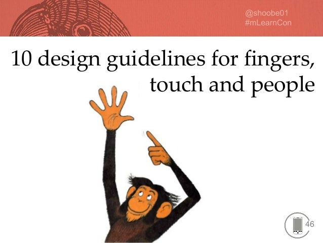 46 10 design guidelines for fingers, touch and people