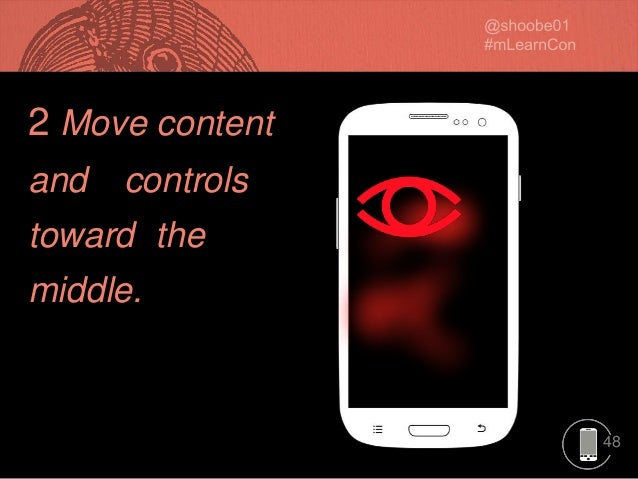 48 2 Move content and controls toward the middle.