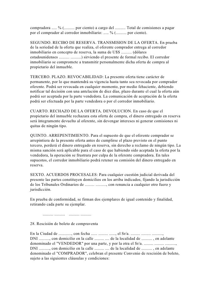 40 modelos de escritos inmobiliarios