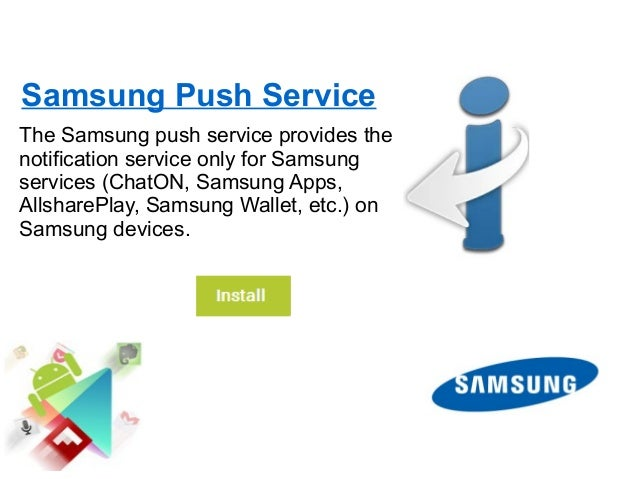 application android samsung push service