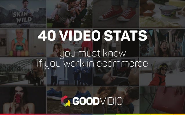 40 VIDEO STATS you must know if you work in ecommerce
