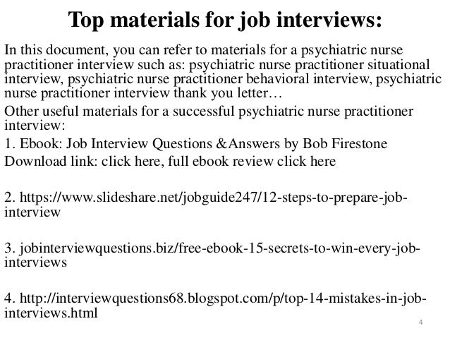 interview questions for nurse practitioners