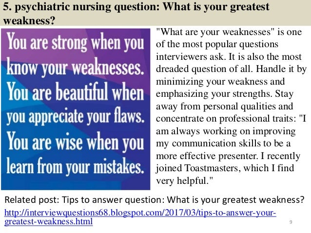 Source: NurseTips360.info 8; 9. 5. Psychiatric Nursing Question: ...
