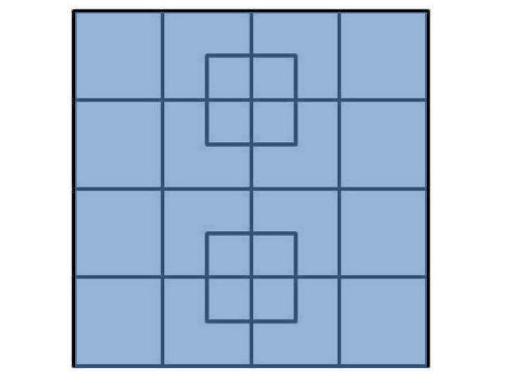 40 squares